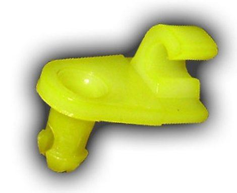Ajtórúd rögzítő patent 3x4,5x7,1 sárga, 10 db/csomag Renault