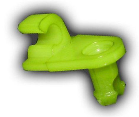 Ajtórúd rögzítő patent 3x4,5x7,1 zöld, 10 db/csomag Renault