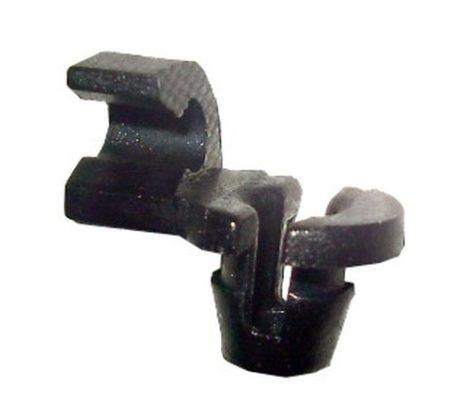 Ajtórúd rögzítő patent 3,5x6x6 fekete, 10 db/csomag Renault