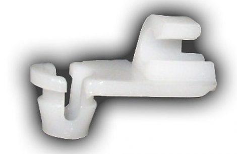 Ajtórúd rögzítő patent 4x6x6 fehér, 10 db/csomag Renault