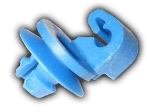 Ajtórúd rögzítő patent 3x5x4,5 kék, 10 db/csomag Citroen Peugeot Renault