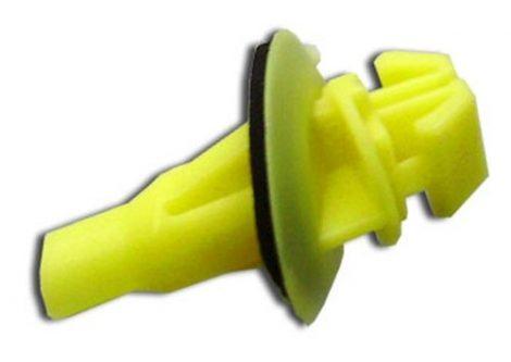 Lökhárító díszléc rögzítő patent 7,5x8,5x7x15 sárga, 10 db/csomag Lexus