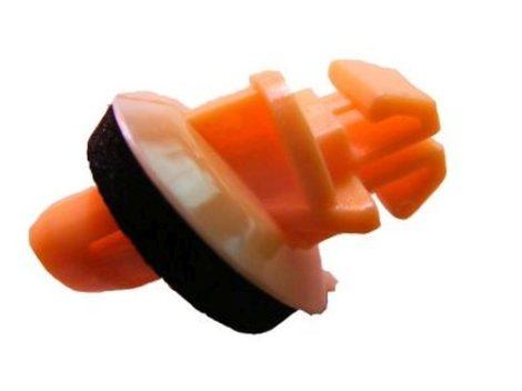 Díszlécrögzítő patent 8,5x7,3x7x14,2 narancssárga, 10 db/csomag Toyota