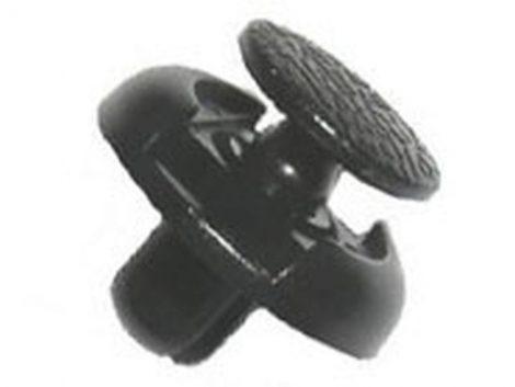Lökhárító rögzítő patent 18x7x8 fekete, 10 db/csomag Toyota Lexus Univerzális