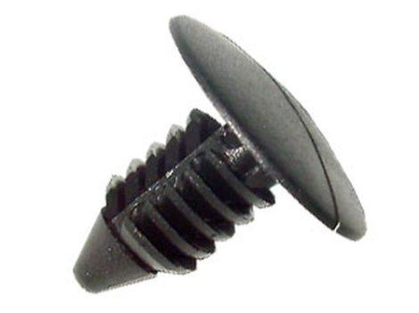 Lökhárító rögzítő patent 17,5x7x15,7 fekete, 10 db/csomag Citroen Peugeot Toyota Lexus