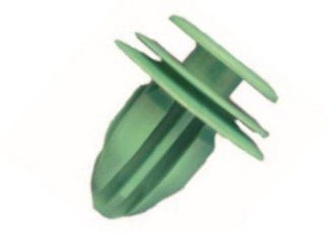 Ajtókárpit rögzítő patent 13x8x14,2 zöld, 10 db/csomag Mitsubishi Toyota