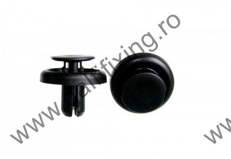 Lökhárító rögzítő patent, fekete, 13,4*6,9*10,5, Toyota, Lexus, 10 db/csomag