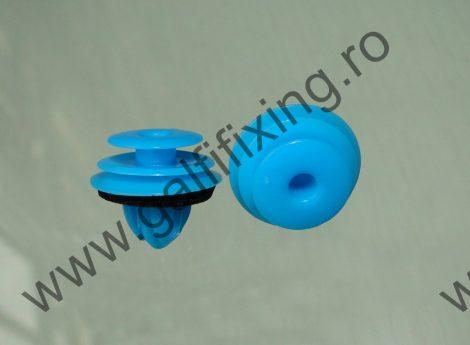 Ajtókárpit rögzítő patent, kék, 12,9*9,5*11, Toyota, Lexus, 10 db/csomag