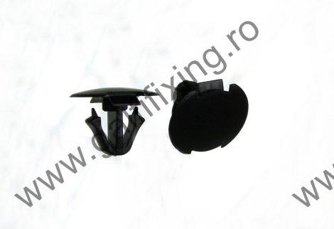 Kerékjárati dobbetét rögzítő patent, fekete, 16*10,5*10,8, Toyota, Lexus, 10 db/csomag