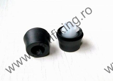 Ajtótömítő gumi rögzítő patent, fekete, 16,8*7,6*9,9, Toyota, Lexus, Subaru, 10 db/csomag