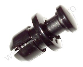 Első lökhárító rögzítő patent 11x8x9,4 fekete, 10 db/csomag, Honda
