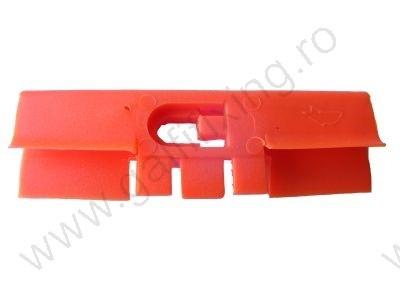 Első szélvédő díszléc rögzítő patent 44x13,5 narancssárga, 5 db/csomag, Honda Rover