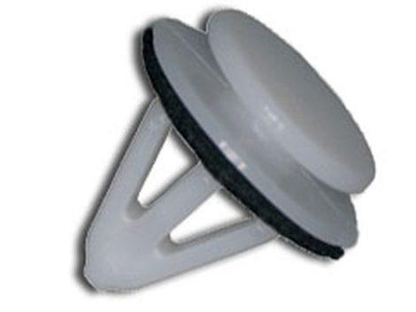 Sárvédődíszléc rögzítő patent 13x9x12,5 fehér, 10 db/csomag Suzuki