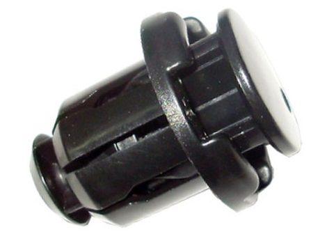 Küszöbdíszléc rögzítő patent 22x15x16,5 fekete, 10 db/csomag Fiat Alfa Romeo Lancia Iveco Chevrolet Suzuki Univerzális