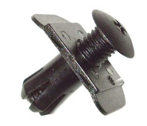 Lökhárító rögzítő patent 20,3x30x20,2 fekete, 5 db/csomag Ford Mazda