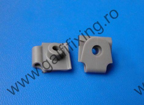 Lökhárító rögzítő patent, szürke, 21,7*19,7*4, Mazda, 10 db/csomag