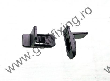 Hűtőrács rögzítő patent, fekete, 22*9, Mazda, 10 db/csomag