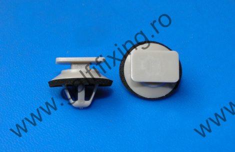 Küszöbdíszléc, ajtódíszléc rögzítő patent, szürke, 18*11,8*10,2, Mazda, 10 db/csomag