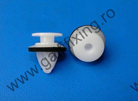 Szélvédő díszléc és csomagtér díszléc rögzítő patent, fehér, 15*10,8*14,1, Mazda, 10 db/csomag