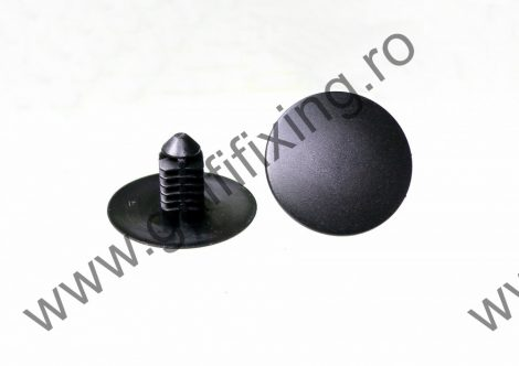 Motortér hangszigetelés rögzítő patent, 19,8*5,7*5,7*11,5, fekete, Mazda, 10 db/csomag
