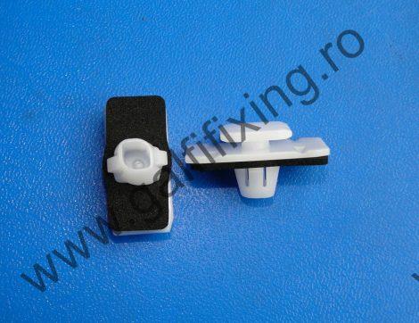 Ajtódíszléc rögzítő patent, fehér, 14,9*11,7*12,5*9,1, Honda, 10 db/csomag
