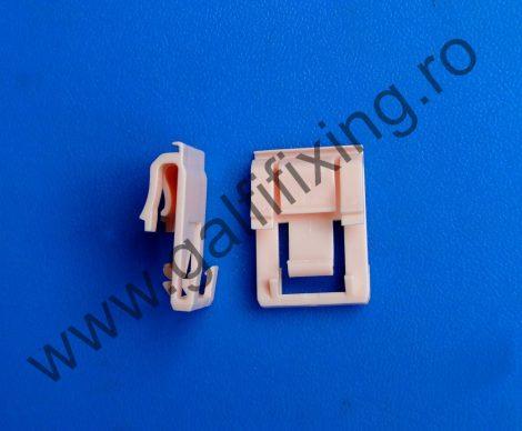 Ajtódíszléc rögzítő patent, rózsaszín, 28,8*20, Honda, 10 db/csomag