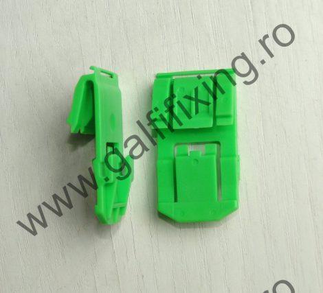Szélvédő díszléc rögzítő patent, zöld, Honda, 10 db/csomag