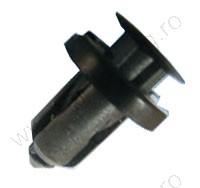 Műanyag lökhárító rögzítő patent 18x10x18,1 fekete, 10 db/csomag, Honda Nissan Subaru Univerzális