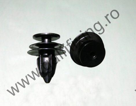 Hátsó lökhárító díszléc rögzítő patent, fekete, 13*9,3*15,2, Honda, 10 db/csomag