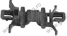 Motorháztető nyitó vezeték rögzítő patent, fekete, Honda, 10 db/csomag
