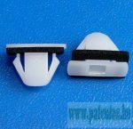 Díszléc rögzítő patent (ajtó és kerékjárat), 19,7*4,7*10,8*8,8, 10 db/csomag, Hyundai