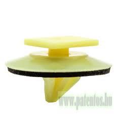 Ajtókárpit / hátsó lökhárító rögzítő patent, 14*11*7,9*9,4*10,2, 10 db/csomag, Mazda