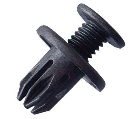 Lökhárító rögzítő patent 20,5x10x14,6 fekete, 10 db/csomag BMW Mini GM Opel Daewoo Chevrolet Honda Rover Univerzális