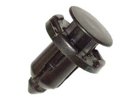 Lökhárító rögzítő patent, 18x9x16,7, fekete, 5 db/csomag, Mitsubishi Honda