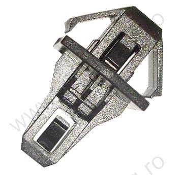 Hűtőrács rögzítő patent, 9,5*26*40, fekete, 5 db/csomag, Honda