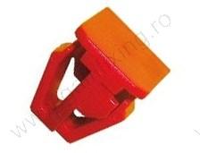 Oldaldíszléc rögzítő patent, 14*15*10*12*13,6, piros, 10 db/csomag, Honda