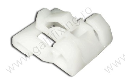 Díszléc rögzítő patent, 24*25, fehér, 5 db/csomag, Honda