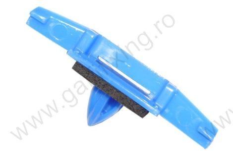 Díszléc rögzítő patent, 10*43*6,2*10,6, kék, 5 db/csomag, Honda
