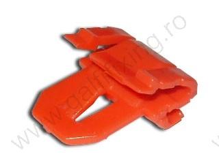 Díszléc rögzítő patent, 20*24*15, piros, 5 db/csomag, Honda