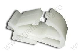 Ajtódíszléc rögzítő patent, 20*25, fehér, 5 db/csomag, Honda