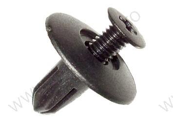 Kárpitrögzítő patent, 18*6*13,7, fekete, 10 db/csomag, Honda