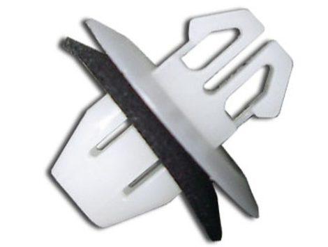 Díszlécrögzítő patent 8,6x7,2x8,5x8,3x8,7 fehér, 10 db/csomag Fiat Toyota Suzuki