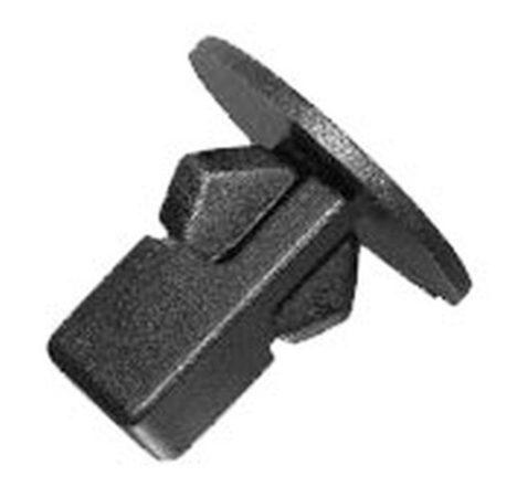 Univerzális kerékjárat dobbetét rögzítő patent 20x8,5x8,5x18,7 fekete, 10 db/csomag Citroen Peugeot Toyota Lexus Univerzális
