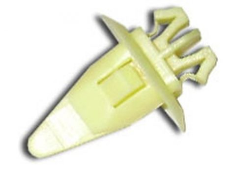Díszlécrögzítő patent 8,2x8,4x24,3 sárga, 10 db/csomag Toyota