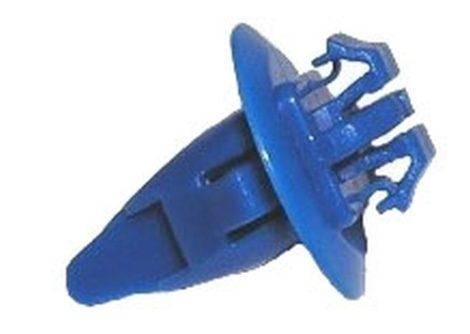 Díszlécrögzítő patent 8,2x8,2x17,8 kék, 10 db/csomag Toyota