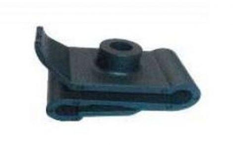 Kerékjárati dobbetét rögzítő patent 24,1x15,5x5,2 fekete, 10 db/csomag Hyundai KIA Toyota Mitsubishi