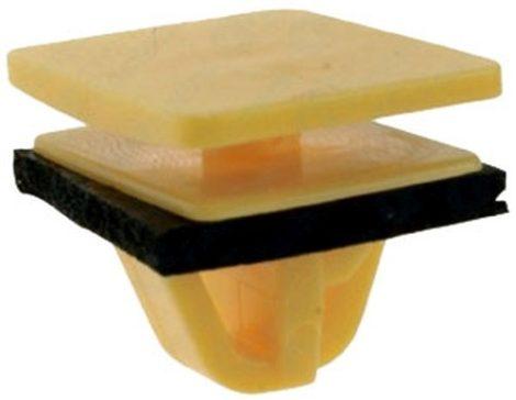 Műanyag burkolat rögzítő patent 16x20x9x11x10,4 sárga, 10 db/csomag Hyundai KIA