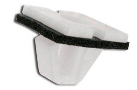 Oldaldíszléc rögzítő patent 14x14x4,2x9,7 fehér, 10 db/csomag Hyundai