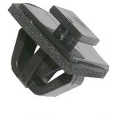 Oldaldíszléc rögzítő patent 8x9x9x11x10,6 fekete, 10 db/csomag Hyundai