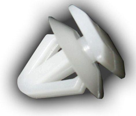 Oldaldíszléc rögzítő patent 12,4x10,6x8x11 fehér, 25 db/csomag Hyundai